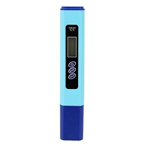 Walmeck 3 in 1 Digitale Wasserqualität Tester TDS Wassertester Stiftprüfgerät EC-Meter Genaue Wasser Qualität Tester TDS/EC / TEMP-936