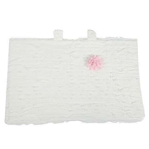 Parasole per Passeggino, Parasole Universale per Passeggino Protezione Parasole per Zanzariera Tendalino Antivento Anti-UV per Bambini Ragazze Ragazzi (bianca)