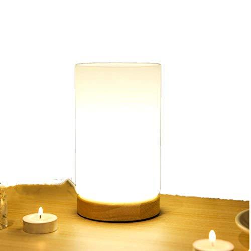 Unbekannt Glas Led Nachtlicht USB Stecker Tischlampe Öffnung Design Blumenschmuck Vase Dekoration Lampe Warmes Licht Schlafzimmer Nachttischlampe Einfach -
