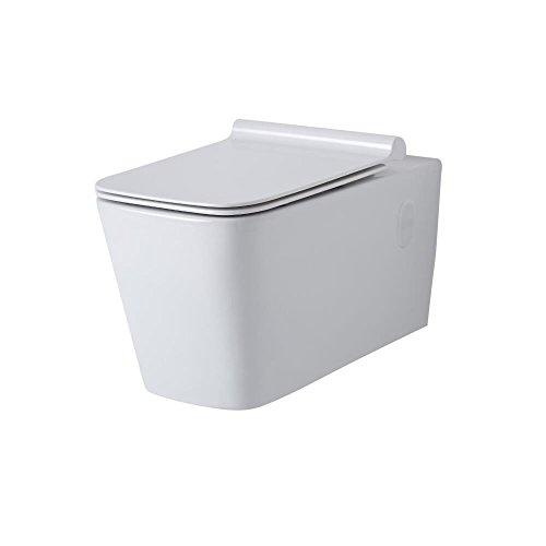 Hudson Reed - Toilette WC Suspendu - 57 X 36 X 34.5 CM