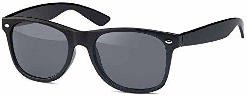 MOKIES Polarisierte Unisex Sonnenbrille - UV400 Filterkategorie 3 CE Kennzeichnung - Polycarbonat - FLEX TEMPLE - 902 Grau
