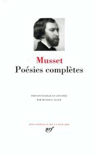 Musset : Poésies complètes par Alfred de Musset