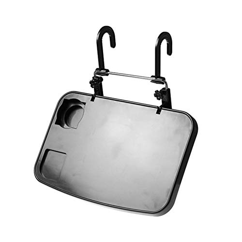 PETUNIA Car PC Mount Table Foldable Laptop Notebook Desk Table Car Drink Cup Holder - Black - Cup Desk Laptop Holder