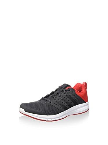 adidas , Herren Sneaker Grau / Schwarz / Rot
