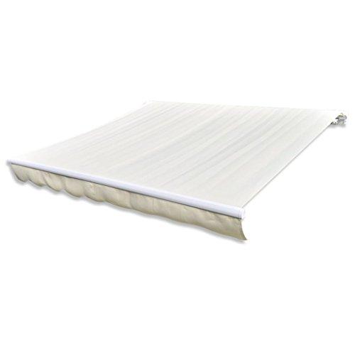 Vislone Tendone da Sole,Tenda da Sole,Tenda Parasole per Balcone/Terrazzo/Giardino/Patio Esterno 3 x 2,5 m/4 x 3 m/6 x 3 m (Telaio Non Incluso)