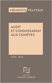 Mémento Audit et commissariat aux comptes 2015-2016 de Editions Francis