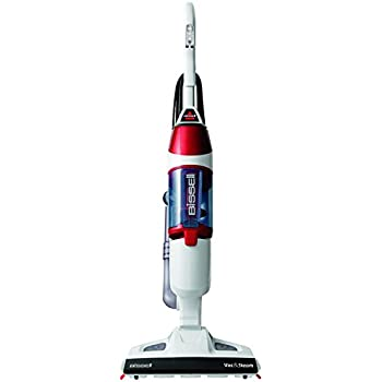 Bissell 1132e vacuum and steam cleaner red white amazon bissell 1132e vacuum and steam cleaner red white fandeluxe Image collections