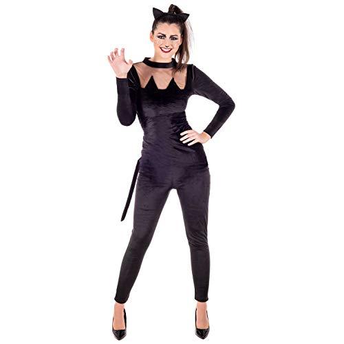 Fun Shack Damen Costume Kostüm, Schwarze Katze, XL