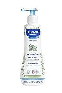 Mustela Hydra Bebe Body Lotion, White, Avocado, 300 ml