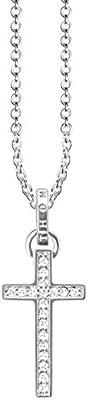 Thomas Sabo Collar con colgante Mujer plata - KE1653-051-14-L45v