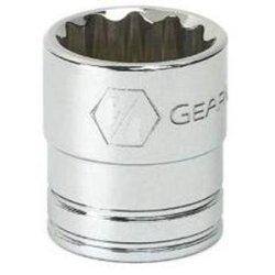 KD Werkzeuge KDT80501 .38 in. Fahren Sie 12 Point Standard Socket - .56 in. - Standard Base Socket