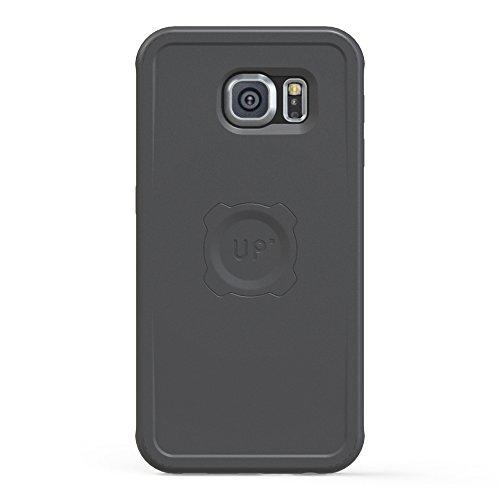 XFlat UPMSS6-B - Carcasa (negro) con función de cargador para Samsung Galaxy S6 - para inalámbrico, inducción magnética de carga UPM100, UPM200 o la UPM500