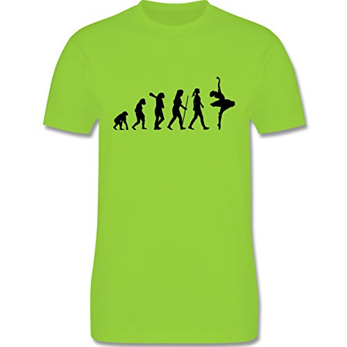 Evolution - Ballett Evolution - Herren Premium T-Shirt Hellgrün
