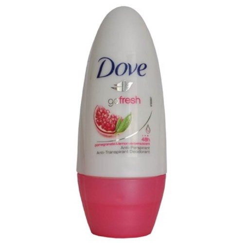 Dove Go Fresh roll Sur grenade 50ml - Pack de 2