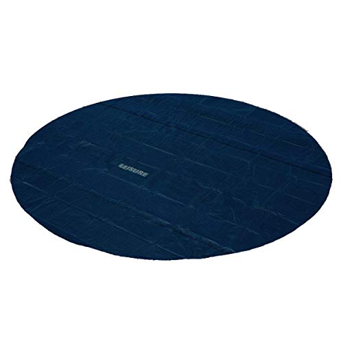 Leisure Profi Pool Solarabdeckplane schwarz/blau 366cm