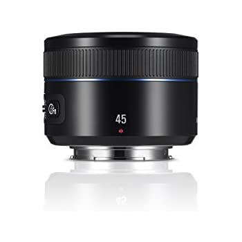 Samsung EX-S45ANB i-Function Objektiv 45 mm F1.8 für Samsung NX-Serie
