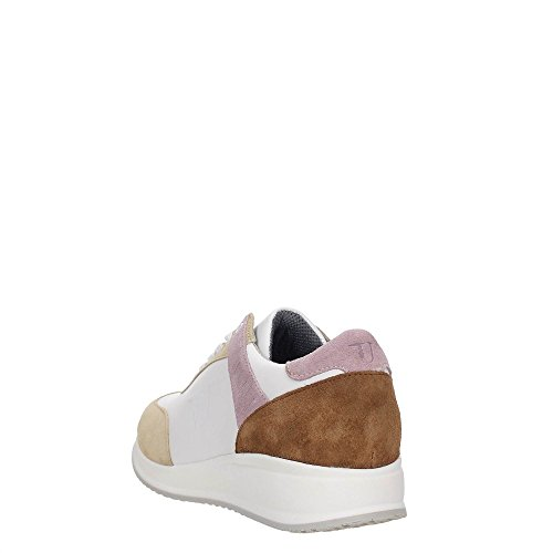 Trussardi Jeans 79S563 Sneakers Damen White/Yellow