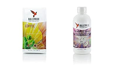 Bulletproof Coffee Ground and 16 oz Brain Oil by BulletProof from Bulletproof