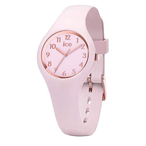 Ice-watch - ice glam pastel pink lady - orologio rosa da donna con cinturino in silicone - 015346 (extra small)