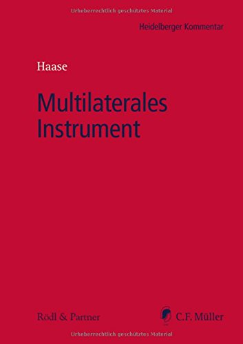 Multilaterales Instrument (Heidelberger Kommentar)