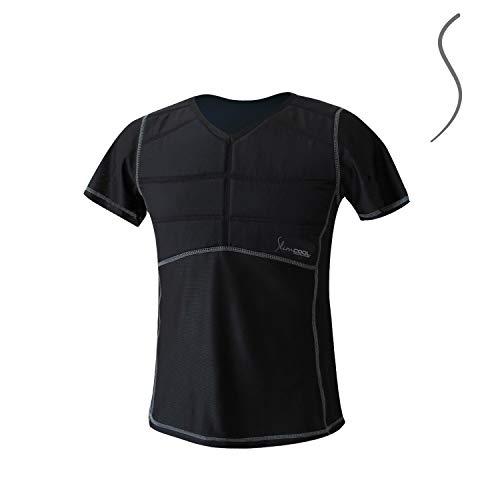 SlimCOOL T-Shirt Abnehmen mit Kühlung für den Körperfettabbau - Braunes Fett - Schlank - immer und überall anwendbar - Natürlich abnehmen - Entwickelt für Frauen -