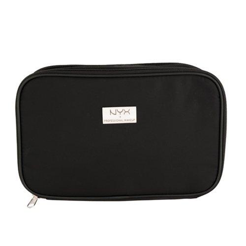(3 Pack) NYX Black Large Rectangular Zipper Makeup Bag - Black