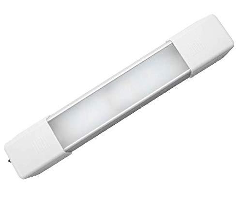 Motoeye LED Innenraumbeleuchtung Auto Interior Licht 18 LED Innenleuchten 12V and 24V Beleuchtung led lichtleiste für Caravan Boot Kabine LKW (2er-Pack)