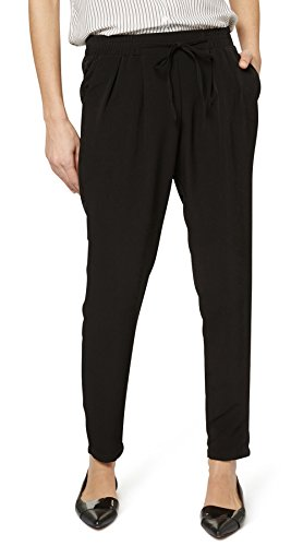 Tom Tailor Contemporary für Frauen pants / trousers elegante Zigaretten-Hose Black
