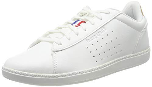 Le Coq Sportif COURTSTAR Craft, Baskets Hommes, Blanc (Optical White/Croissant), 43 EU