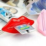 Red Hot Lips Tubenpresse Tubenentleerer Tuben Ausdrücker Tubenausdrücker für Zahnpasta