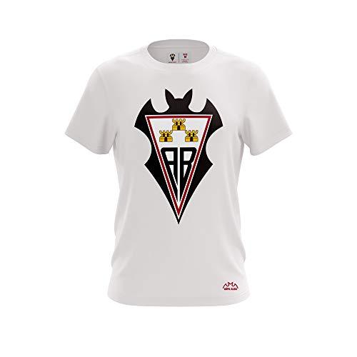 ALBACETE Camiseta T12 Alba Escudo Blanca