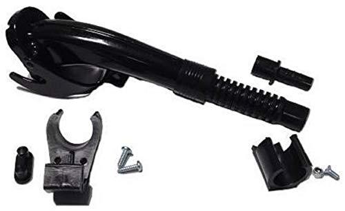 ARNOLD, schwarz 6011-X1-2003 Ausgießer für Metallkanister-kurze Ausführung
