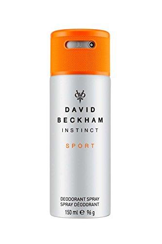 David Beckham INSTINCT Sport Deo Body Spray - Deodorant für langanhaltende Frische & einen männlich-belebenden Duft nach jeder Anwendung - 1er Pack (1 x 150 ml)