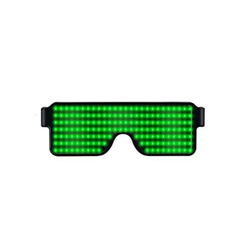 Rokoo Blinkende LED-Gläser glühende helle Festival-Party-Sonnenbrille-Weihnachtsgeburtstags-Dekoration