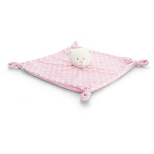 Keel Toys - Baby Spotty Bear - Rose - Couverture de confort - 25cms