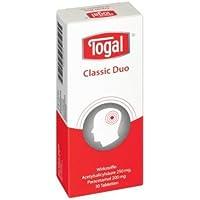 Togal Classic Duo spar-Set 2x30 Tabletten. Zum Einnehmen bei akuten leichten bis mäßigen Schmerzen. Enthält die... preisvergleich bei billige-tabletten.eu