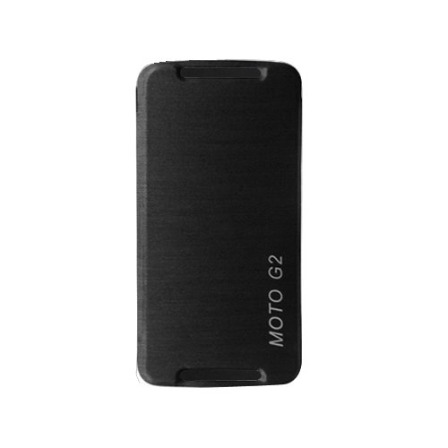 Garmor Flip cover for MOTO G (2nd Gen)- Black