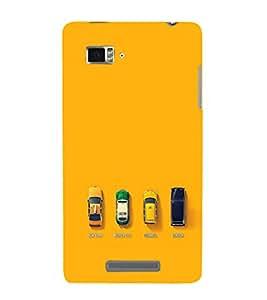 EPICCASE City Taxi Mobile Back Case Cover For Lenovo Vibe Z K910 (Designer Case)