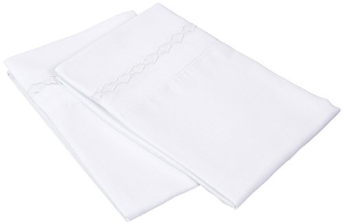 super-soft-light-weight-100-brushed-microfiber-standard-white-with-cloud-embroidery-2-piece-pillowca