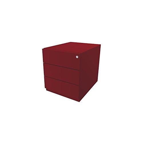 Bisley Rollcontainer Note mit 3 Universalschubladen- Beistellschrank mit HxBxT 495x420x565mm-...