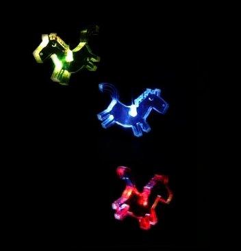 Neuheit Lichter String (Farbwechsel Pferd Mobile–Kinderzimmer Licht–batteriebetrieben–Lichterkette)