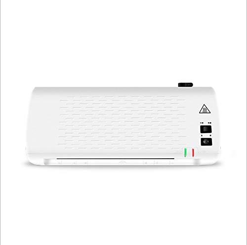 FEE-ZC LaminiergeräT A3/A4 Laminator Mit Vierwalzensystem Laminierer, Laminiermaschine Hot & Cold Fast Warm-Up Reverse Funktion 220v, Weiß