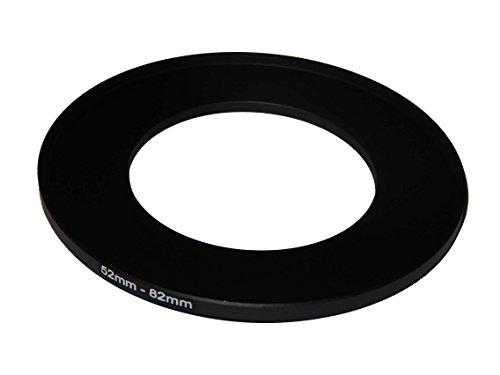 vhbw Step UP Filter-Adapter 52-82mm für Canon Casio Pentax Olympus Panasonic Sony Nikon Ricoh Sigma Tamron Samsung Fujifilm Agfa Minolta Kodak.