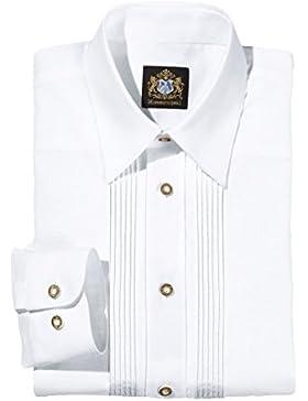 Hammerschmid 14100 Herren Trachtenhemd Weiss