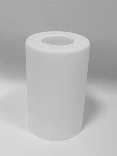 s Lampenschirm E14 Röhre 95mm weiß opalfarbig ()
