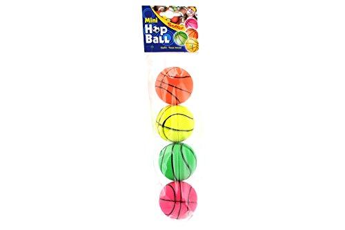 Globo Toys Globo-376594,7cm 4Sortiert Farbe Sommer Neon Basketball