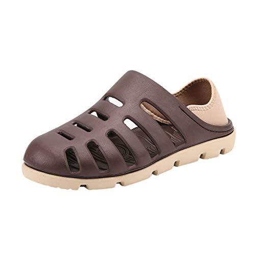 Gold Kids Shoe Cover (Epig Herren Summer Beach Schuhe - rutschfeste Light Slipper Falt Sandalen Cover Heel Slippers)