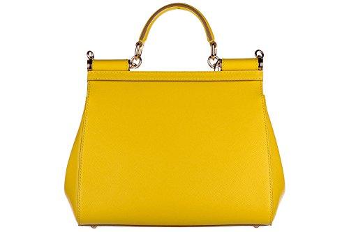 BB6002A100180203 Dolce&Gabbana Sac à main Femme Cuir Jaune jaune