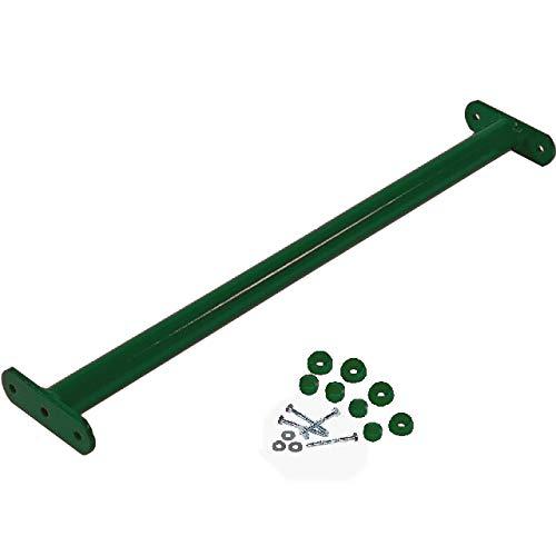 GK Reckstange grün, 125 cm lang, inkl. Schrauben mit Abdeckkappen