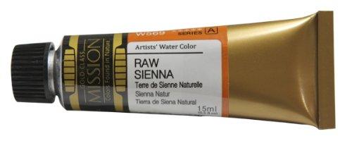 Sienna 15 Ml-tube (Mijello Mission Gold RAW SIENNA (W569), 15ml Tube Künstler-Aquarellfarbe)